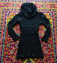 Daljši pulover z velikim ovratnikom S/M