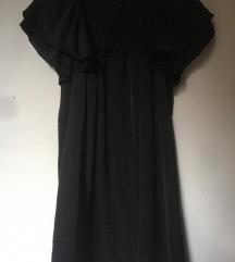 NOVA Črna večerna obleka