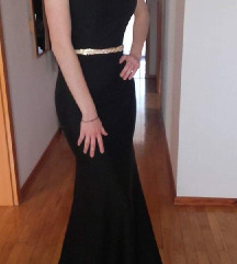 ČRNA DOLGA obleka