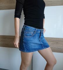 Jeans krilo, mini, H&M