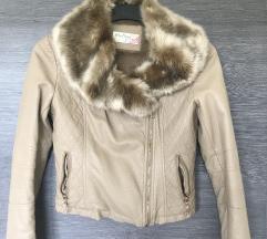 Usnjena jakna + GRATIS jakna