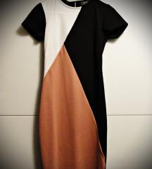 Obleka - Črno, bela, roza, 36 št., Lipsy NOVA 👗👠