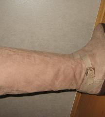 Zara škornji usnje št.38
