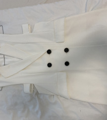Obleka zara bela xs
