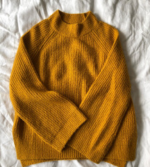 Rumen/gorčični pulover