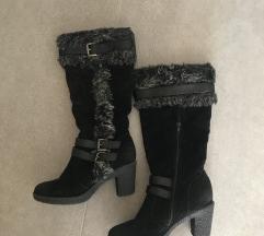 Zimski topli škornji z muco