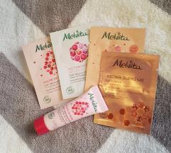 MELVITA PULPE DE ROSE krema + vzorčki