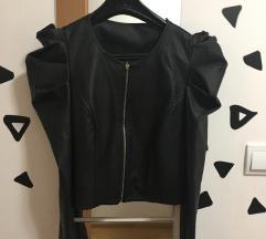 Kratka usnjena jakna S