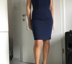 Orsay temno modra oprijeta obleka