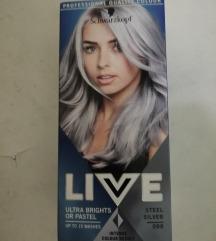 Barva za lase siva