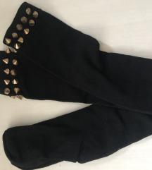 Nogavice cez kolena z neti