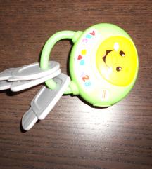 Igrača - ključ, ki poje pesmice