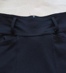 Črno elegantno krilo