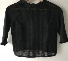 črna majica Zara