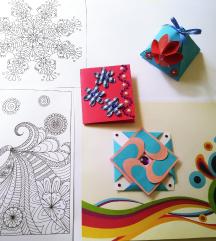 Ročno izdelana darila in voščilnice