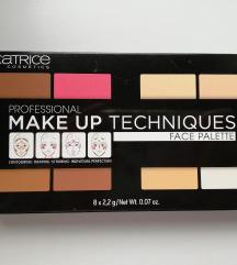 CATRICE Make up techniques paleta za obraz