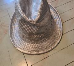 Ženski srebrni klobuk št. 56 cca