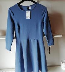 h&m obleka modra *ne menjam*