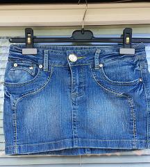 ENERGY YOUNG št. 36 / 38 ( 27 ) jeans krilo