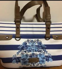 Ženska torba torbica mornarska