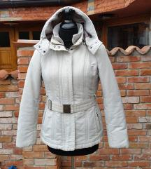 ZARA št. 40 ( M ) bela zimska jakna