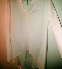 Asimetricna srajcka bela M