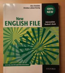 Učb. za angleščino: New englih file +DZ UGODNO!!