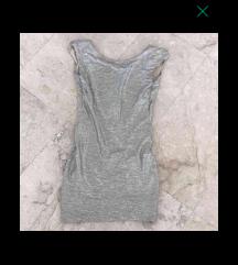 srebrna blesceca mini oblekca