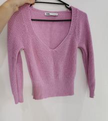 Zara kratek pulover