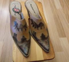 Usnjeni ženski čevlji