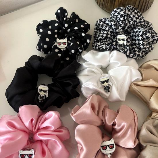 karl scrunchies