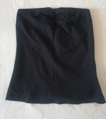 Črna majica brez rokavov (nova)