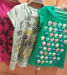 majice komplet S
