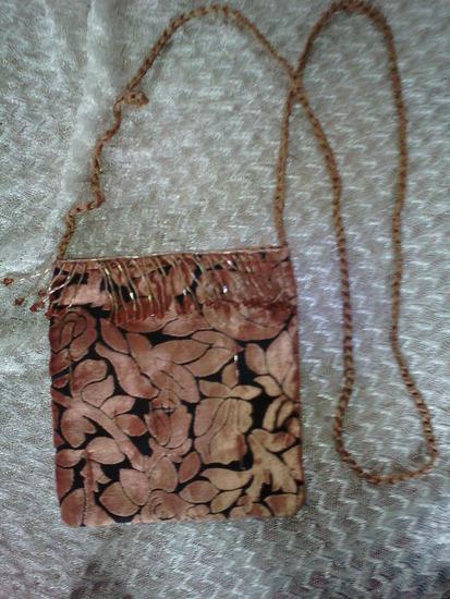 elegantna brokat majhna torbica