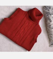 ❤️Rdeč pulover brezrokavnik❤️