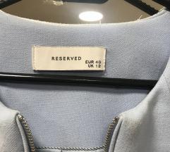 Reserved plašček