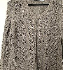 NOV moški pleten pulover Zara