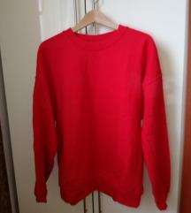 Nova majica rdeča dolg rokav XL (s ptt)