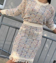 kompletek krilo in pulover