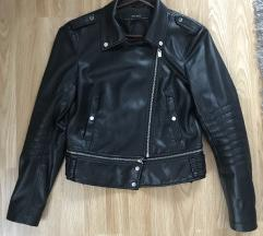 Zara basic  usnjena jakna