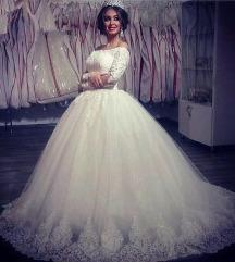 Arabic wedding style dress
