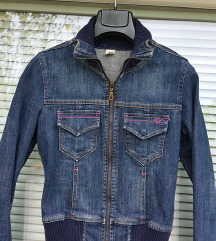Zara TRF št. 36 / 38 ( S ) jeans jakna