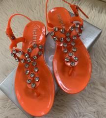 Hölster oranžni sandali