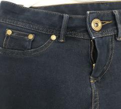 Modre skiny jeans kavbojke