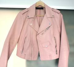Zara usnjena jakna
