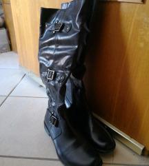 Škornji temno modri - novi