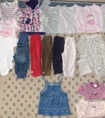 80 dekliška topla oblačila za jesen