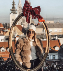 ZNIZANJE - fox Fur coat