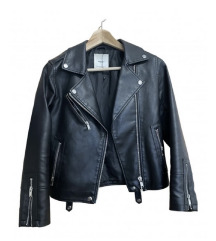 Mango jacket leather