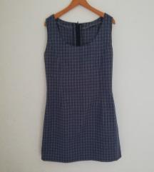 Ročno izdelana karirasta oblekica